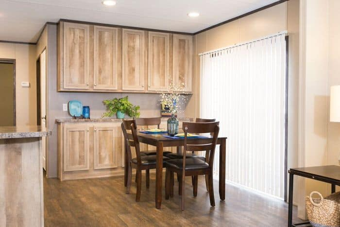 Modern manufactured home models-anniversary dining