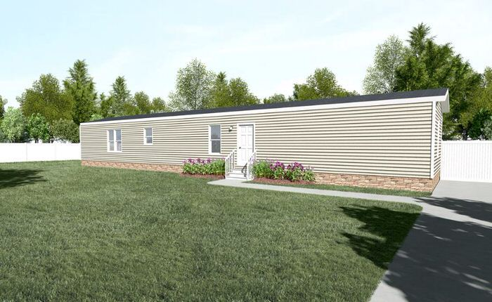 Modern manufactured home models-anniversary exterior