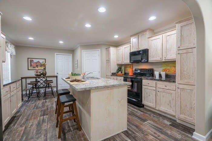 modern manufactured home models-commissioner kitchen 2