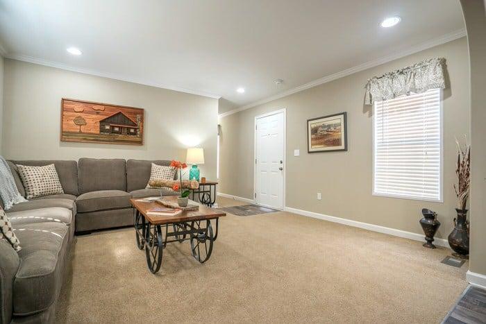 modern manufactured home models-commissioner living room