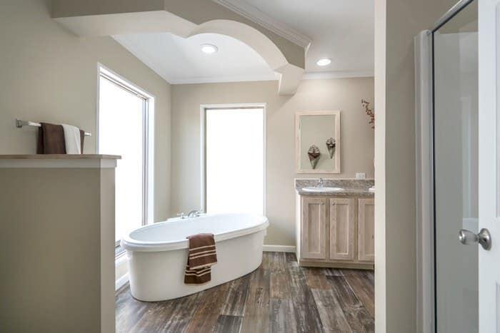 modern manufactured home models-commissioner master bath