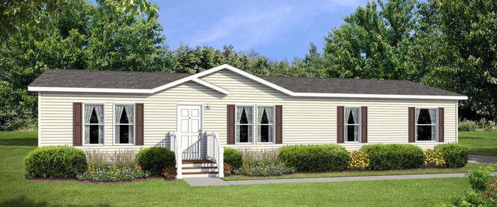 modern manufactured home models-foundation 700 exterior