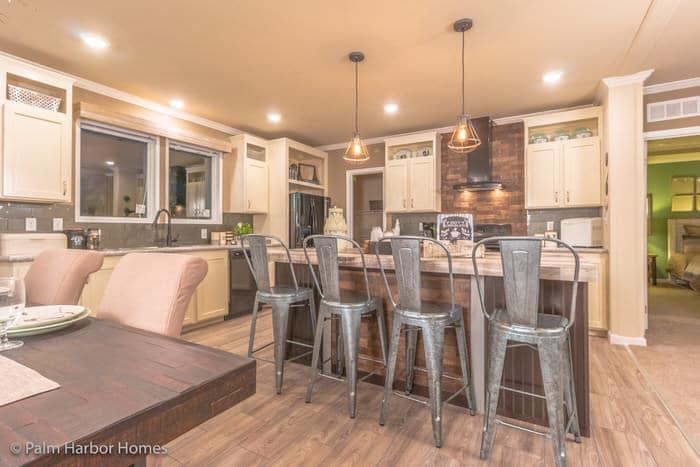 modern manufactured home models-homestead kitchen