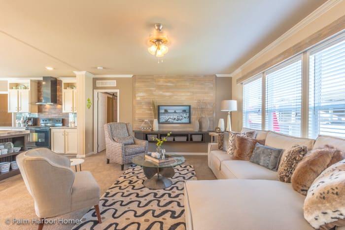 modern manufactured home models-homestead living room (1)