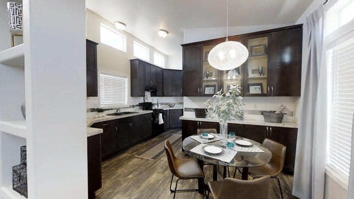 modern manufactured home models-karsten kitchen