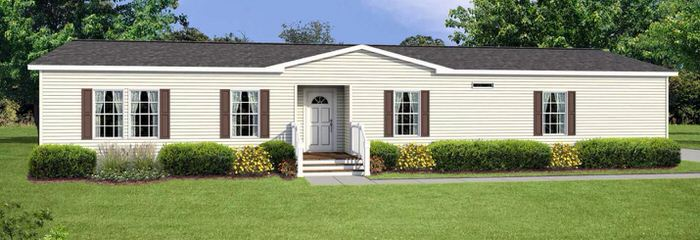 modern manufactured home models-ridgecrest exterior
