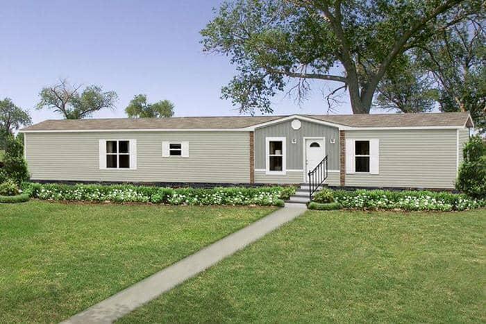 modern manufactured home models-santa rosa exterior