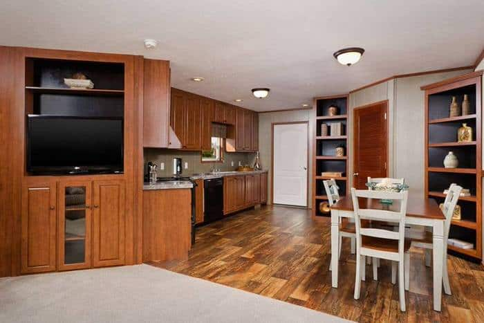 modern manufactured home models-santa rosa kitchen