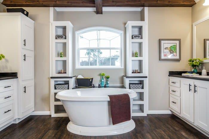 modern manufactured home models-the lloyd master bath
