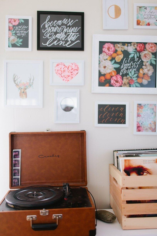 mobile home decor-modern retro decor