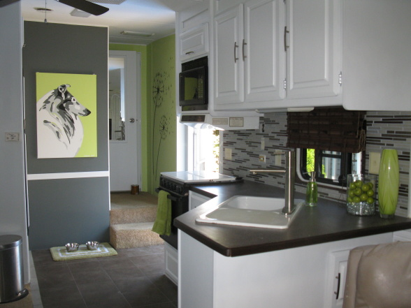RV And Camper Decor Series: DIY RV Design • Mobile Home Living