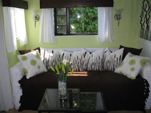 modern rv design - living area