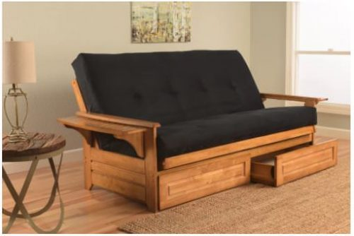 Smart multi-function furniture that's perfect for a small mobile home-futon