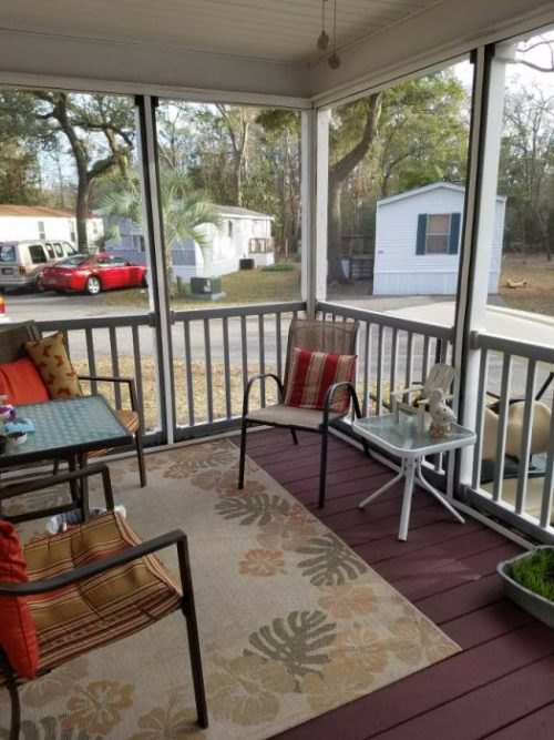 10 Favorite Craigslist Mobile Home Ads from June 2017- Screened Porch