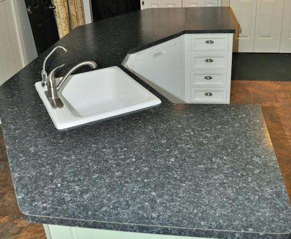new formica sheet on mobile home kitchen island