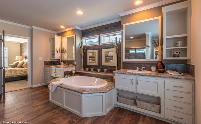 new mobile home design- Sonora II master bathroom