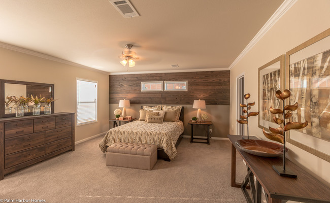 new mobile home design- Sonora II master bedroom
