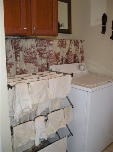 no cost laundry room makeover in manufactured home - homesteading