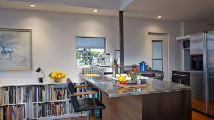 Ojai kitchen after
