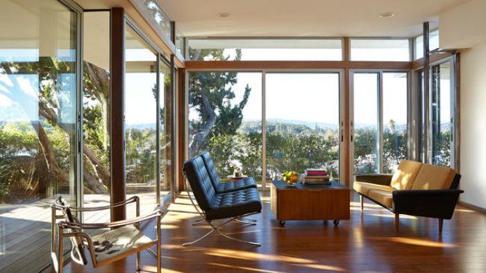 Complete 1964 mobile home remodel - interior after