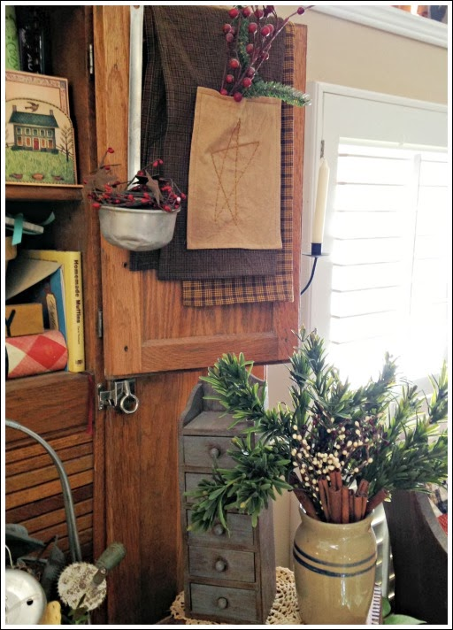 old world primitive style in kitchen remodel