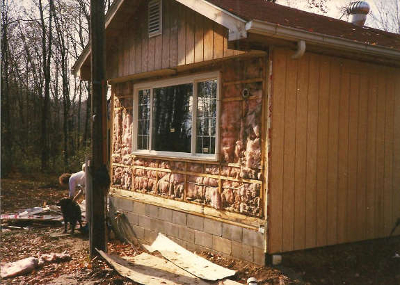 original insulation in manufactured home