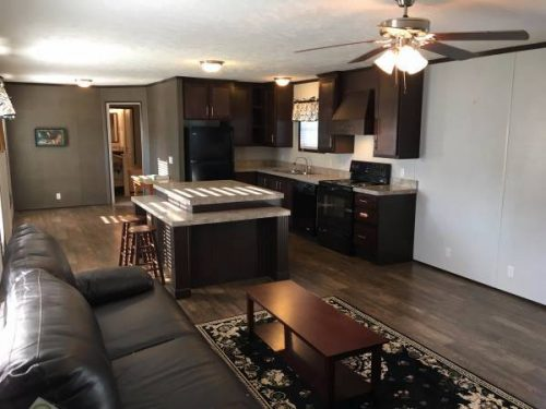 our favorite manufactured home ads from August 2017 - TN single wide kitchen