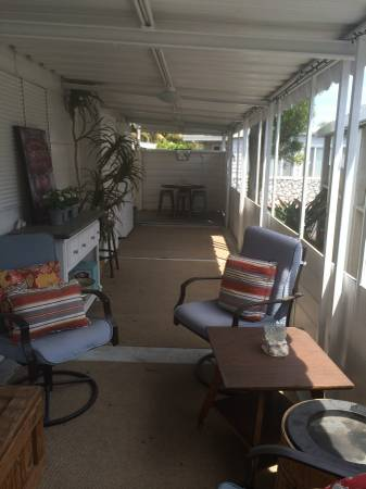 outdoor deck ion mobile home