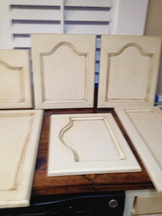 painting cabinets for a kitchen remodel