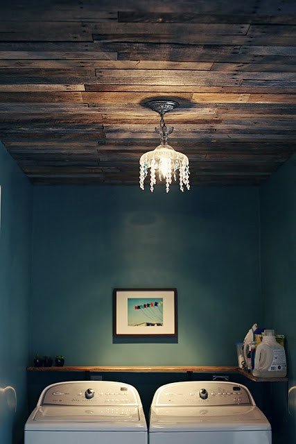 pallet ceiling project