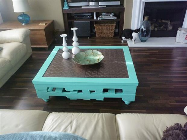 pallet coffee table project