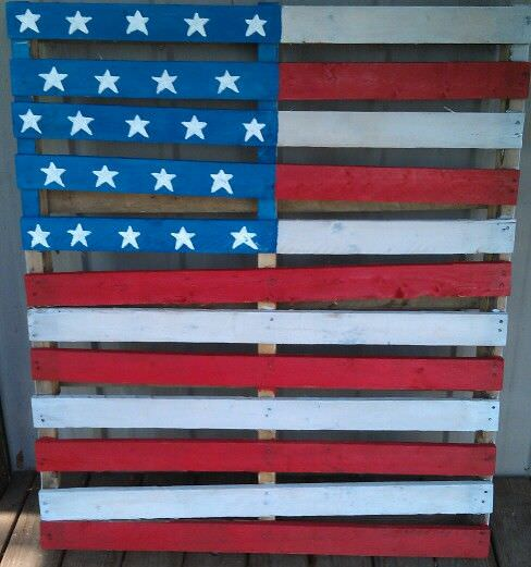 pallet project ideas-4th of july