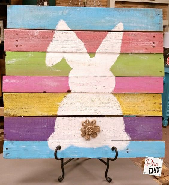 pallet project ideas-easter