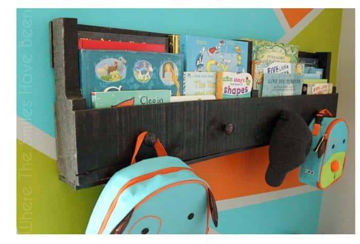 Pallet projects-book holder
