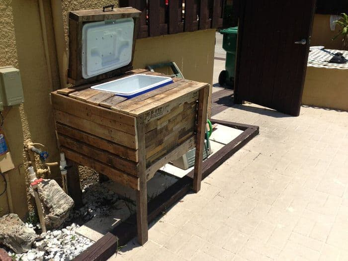 pallet projects-cooler