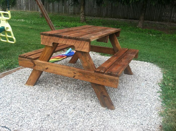 Pallet projects-picnic table