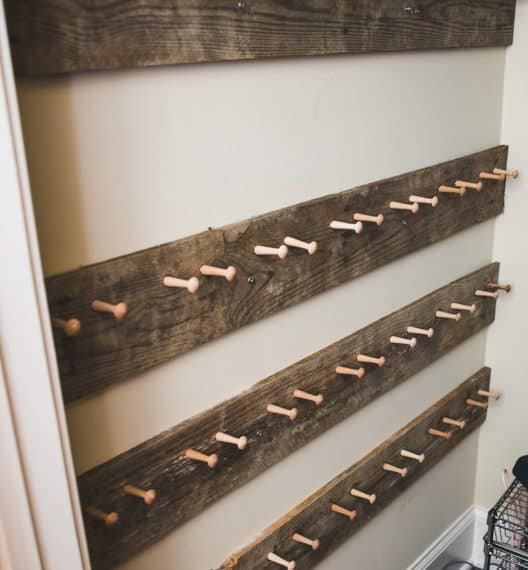 Pallet projects-shoe holder