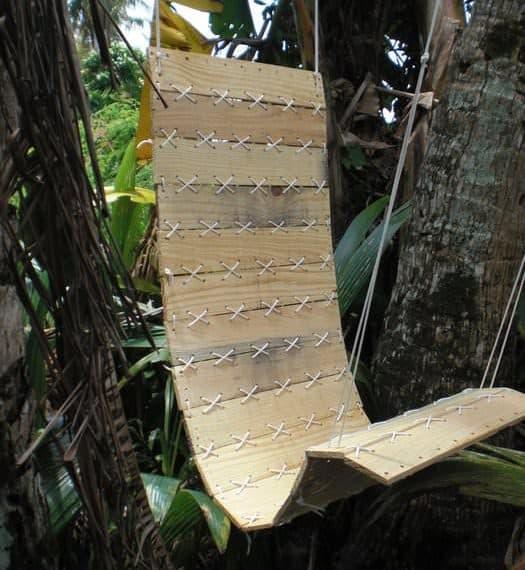 pallet projects-swingin chair