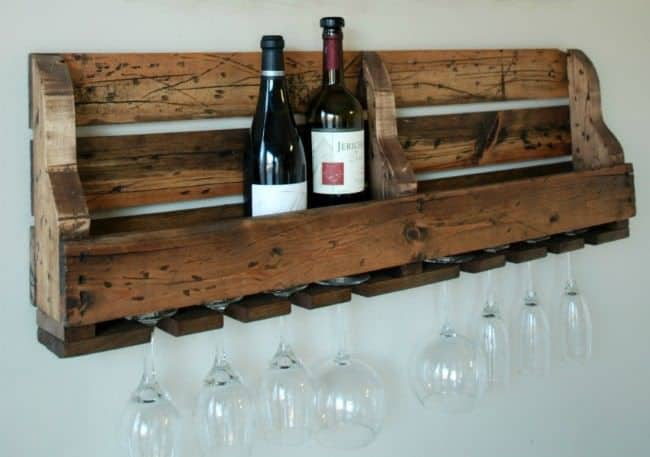 pallet projects-wine rack