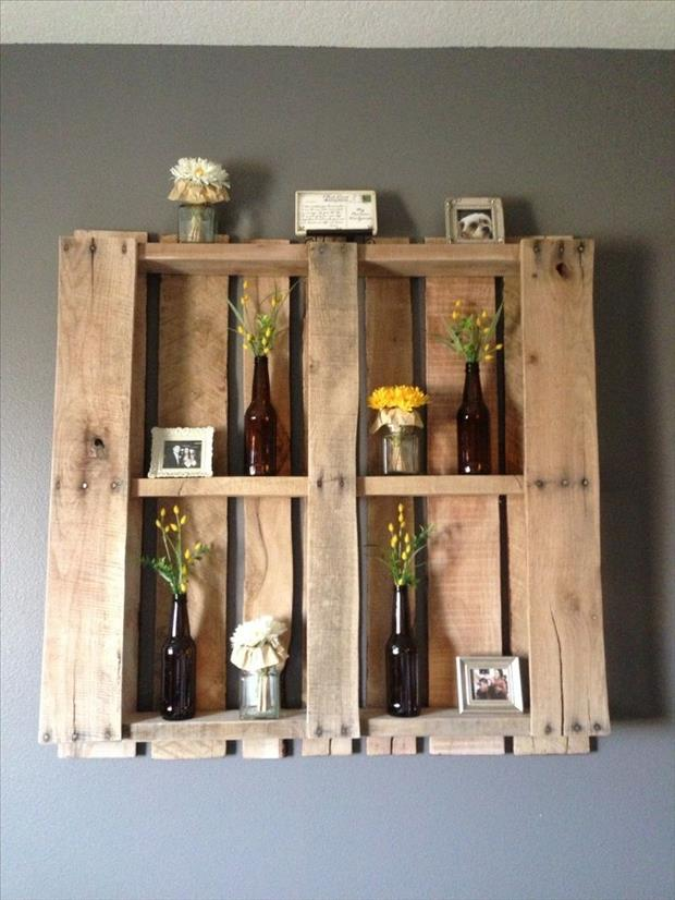 pallet shelf project