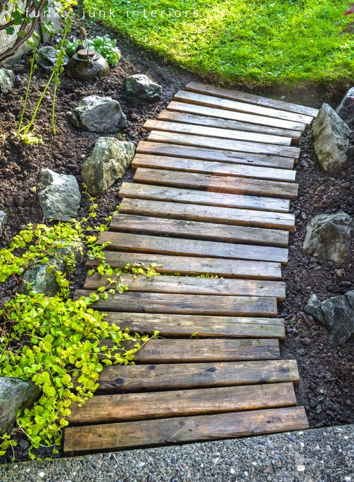 pallet walkway project