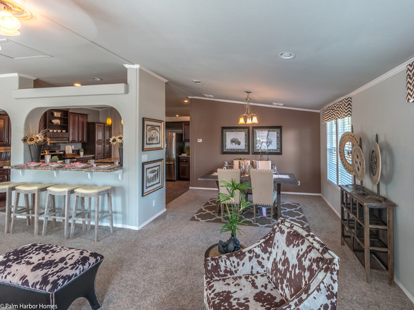 palm harbor manufactured home design-dining room