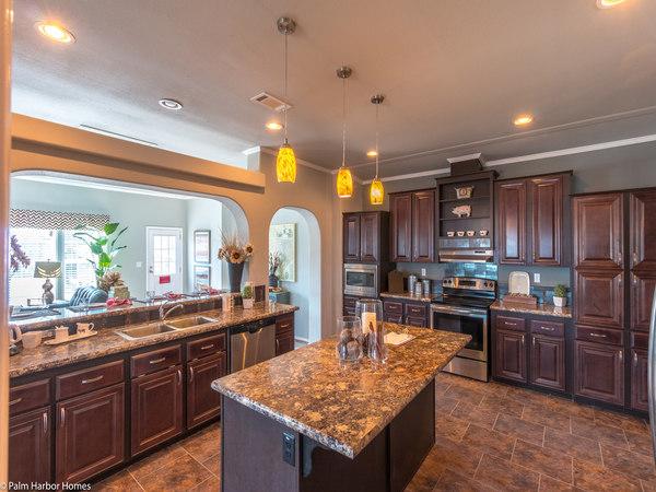 palm harbor manufactured home design-kitchen