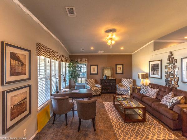 palm harbor manufactured home design-living room