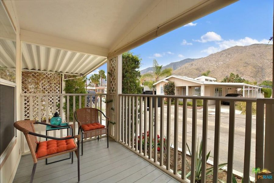 palm springs mobile home-view