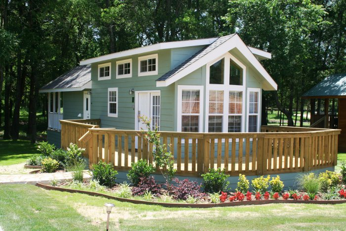 A look at park model mobile homes mobile home living for Home models and prices
