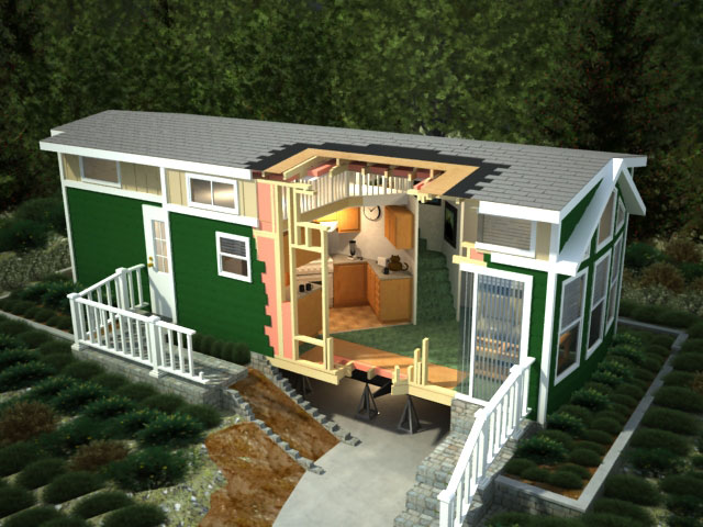 A look at park model mobile homes mobile home living for Mobile home park design ideas