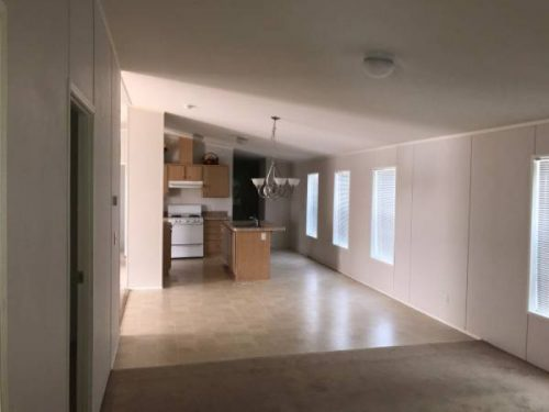 10 Awesome Craigslist Mobile Home Ads from June 2017 - Bright white interior of AZ double wide for sale