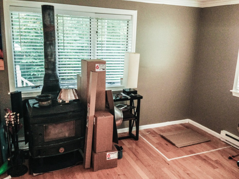 planning wood stove installation