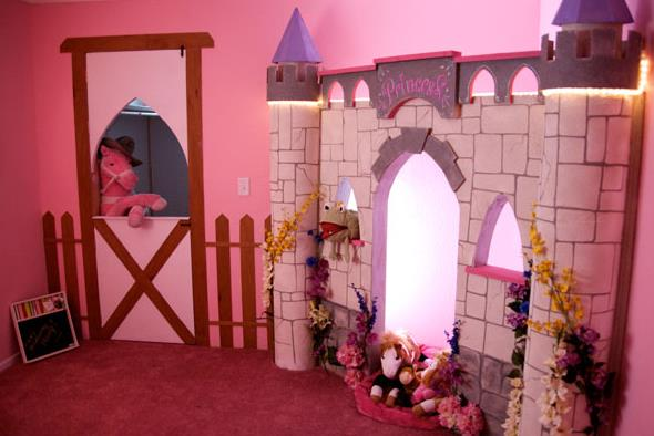 princess kids bedroom ideas